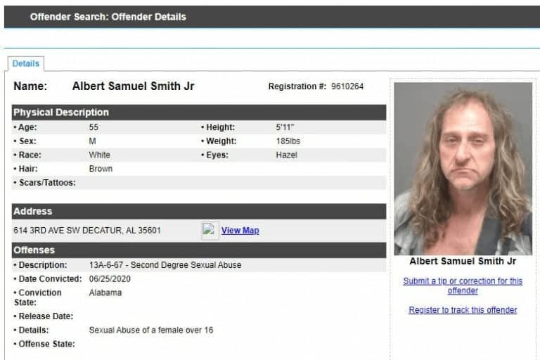 Alabama Sex Offender Search 6