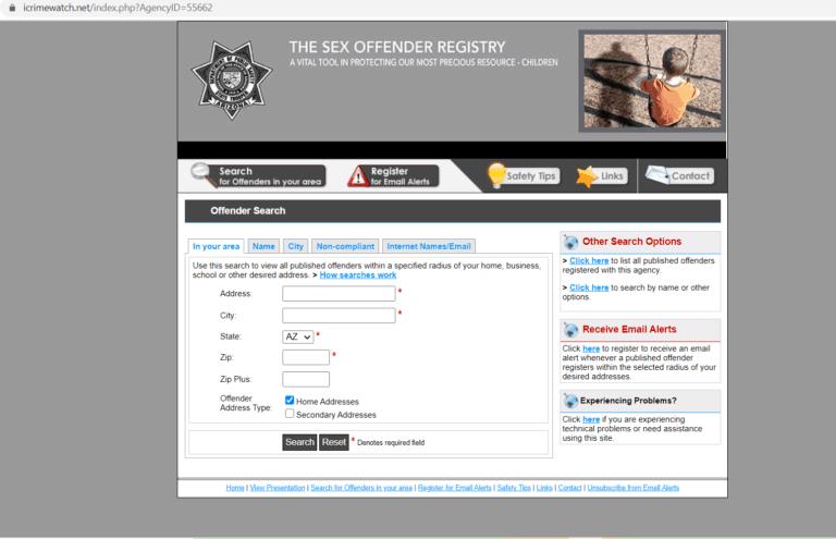 Arizona DOC Inmate Search Step 4-1