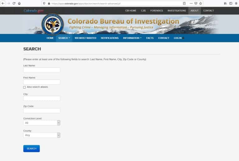 Colorado Sex Offender Search 2