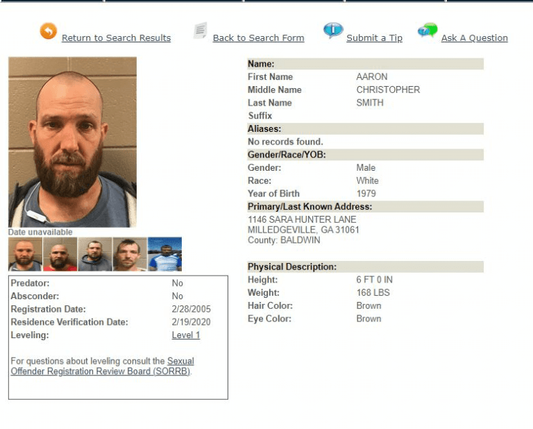 Georgia Sex Offender Search 4