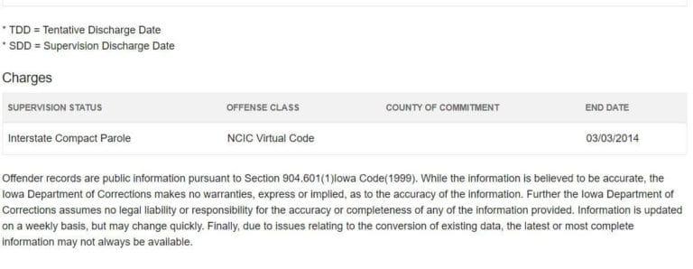 Iowa DOC Inmate Search 4
