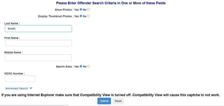 Kansas DOC Inmate Search 2