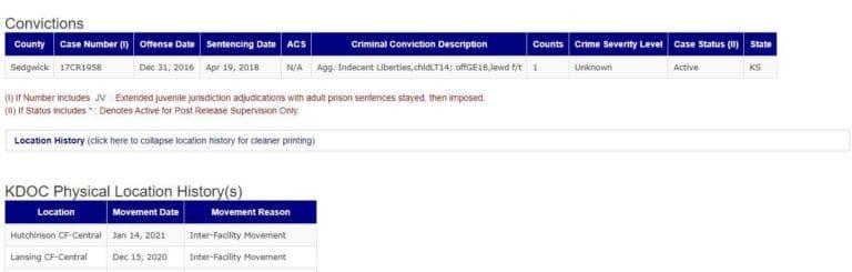 Kansas DOC Inmate Search 4