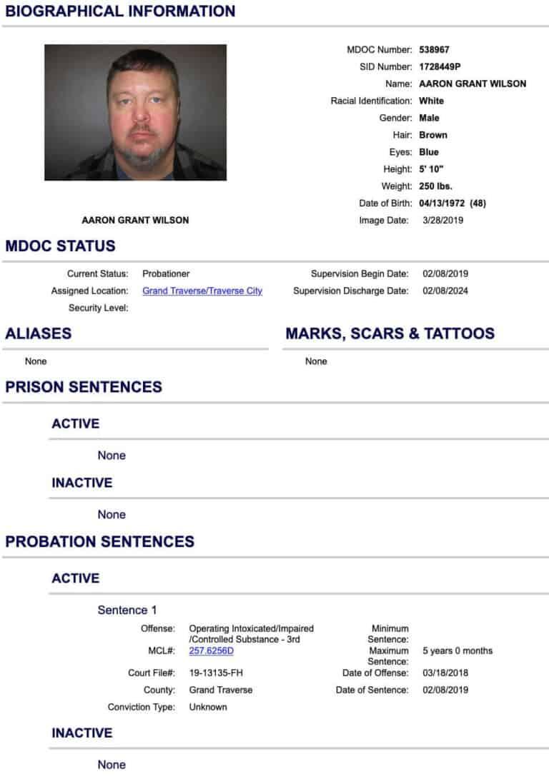 Michigan DOC Inmate Search 4