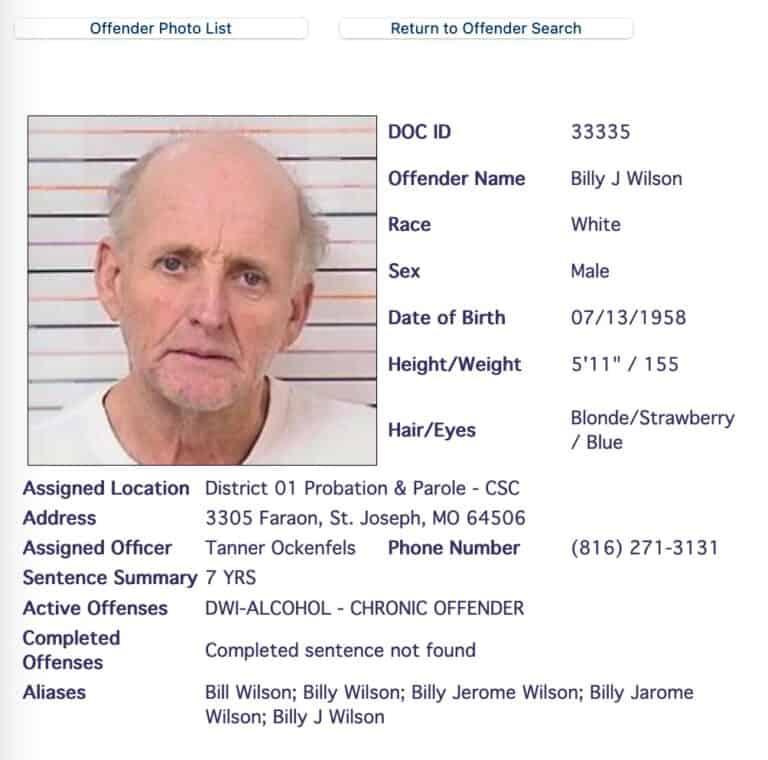 Missouri DOC Inmate Search 5