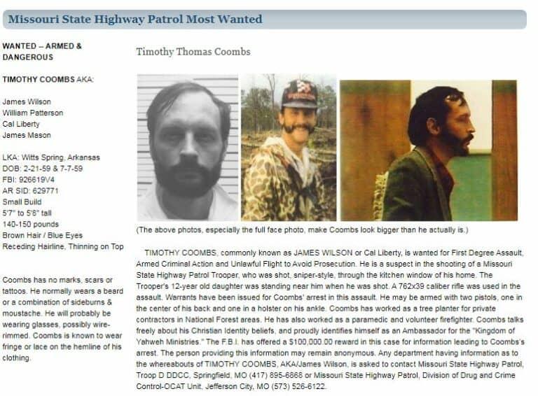 Missouri most wanted fugitives