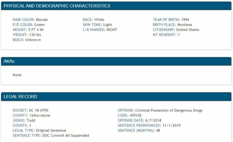 Montana DOC Inmate Search 3.2