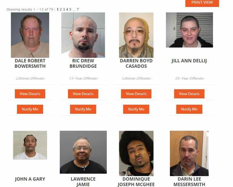 Nebraska Sex Offender Search 3