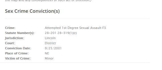 Nebraska Sex Offender Search 4