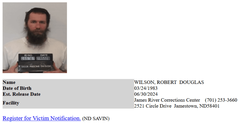 North Dakota Inmate Search 4