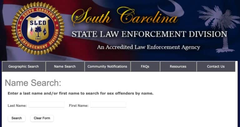 South Carolina Sex Offender Search 2
