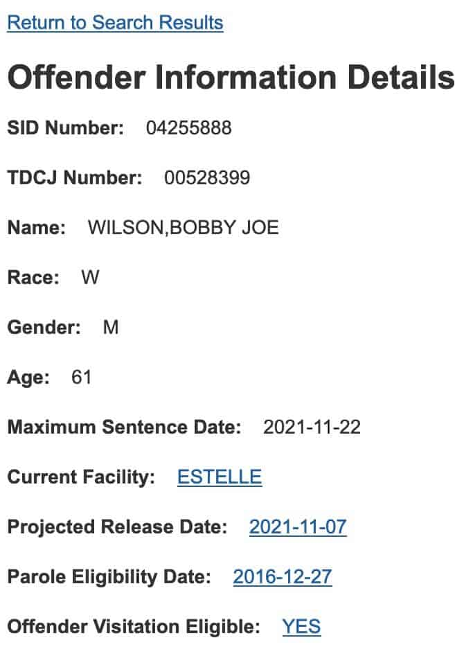 Texas DOC Inmate Search 4