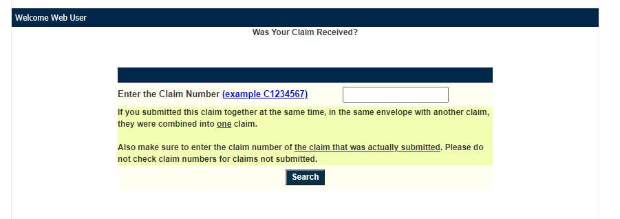 Checking Your Claim