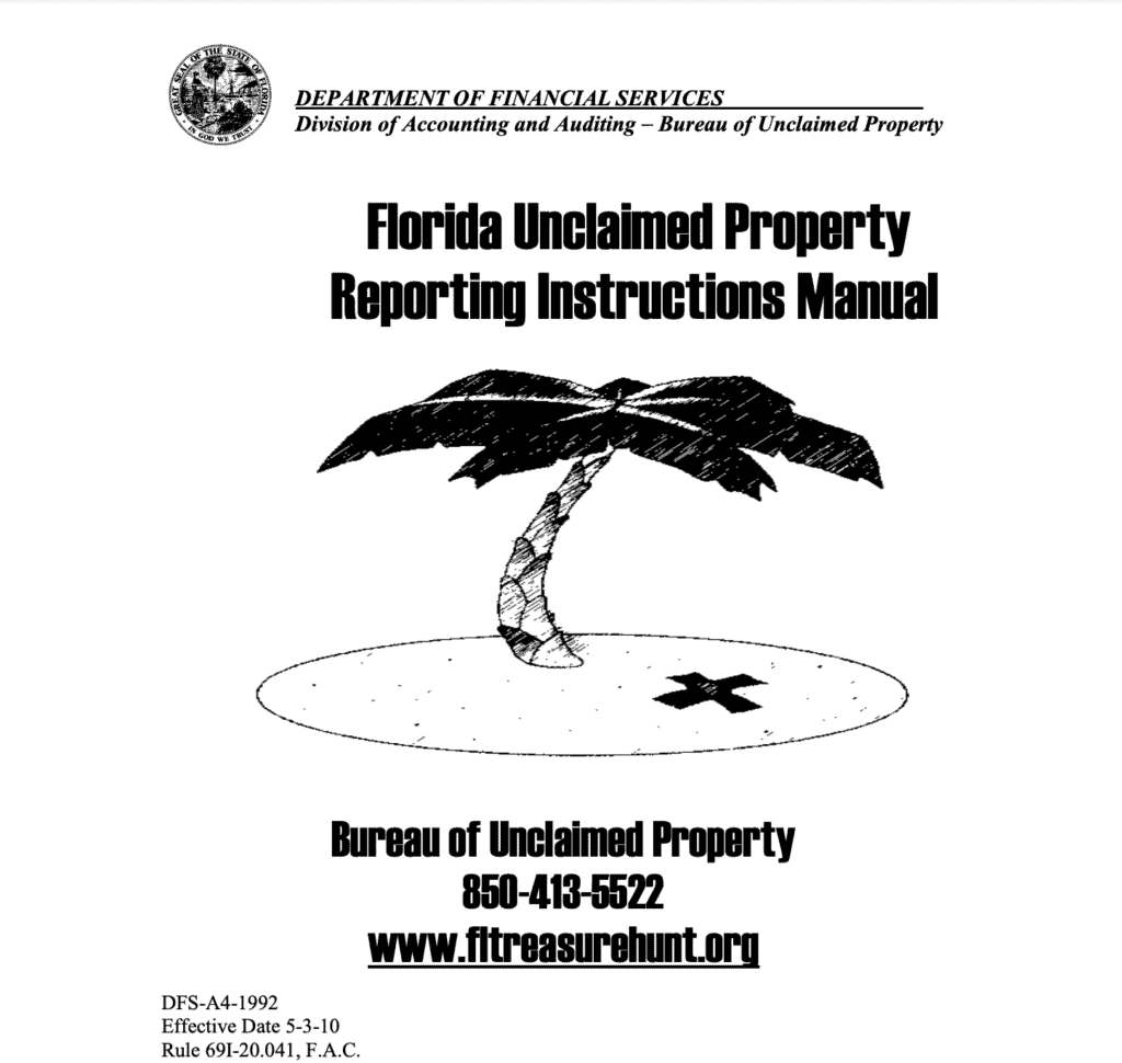 Florida Unclaimed Property Laws
