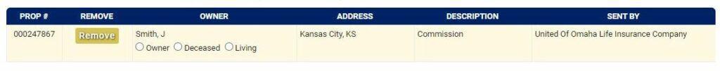 Guide to Filing a Kansas Claim Step 1