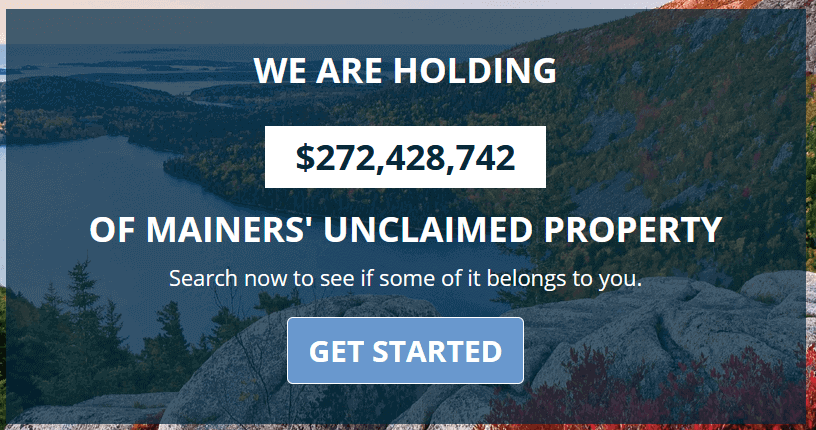 How to Find Unclaimed Money in Maine Step 1