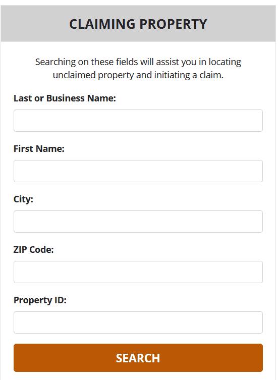 How to Find Unclaimed Money in Nebraska Step 2