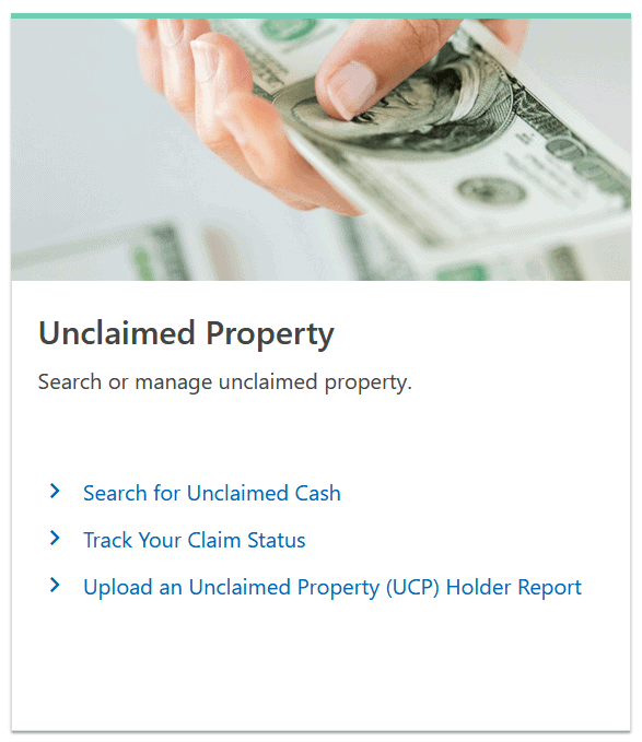How to Find Unclaimed Property in Montana Step 1