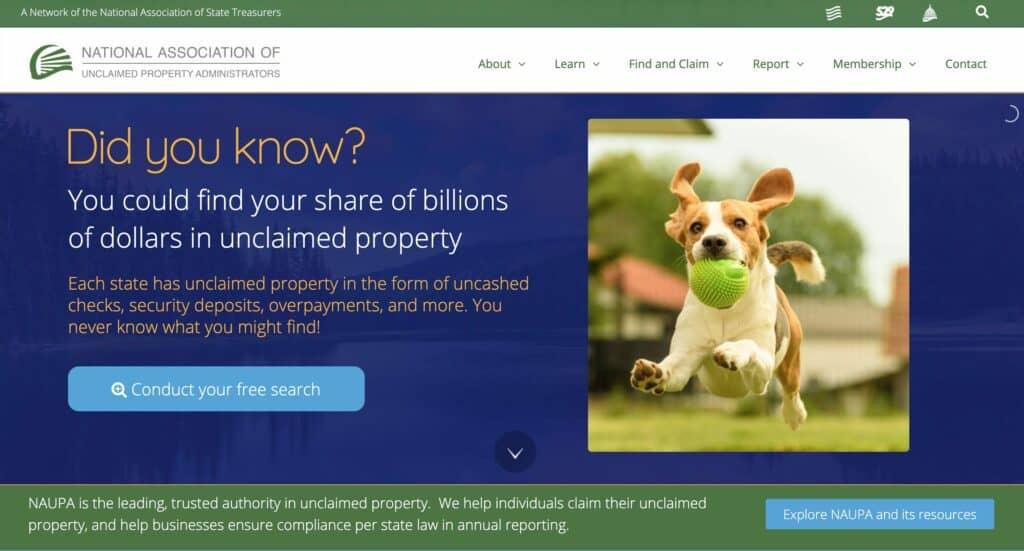 National Association of Unclaimed Money