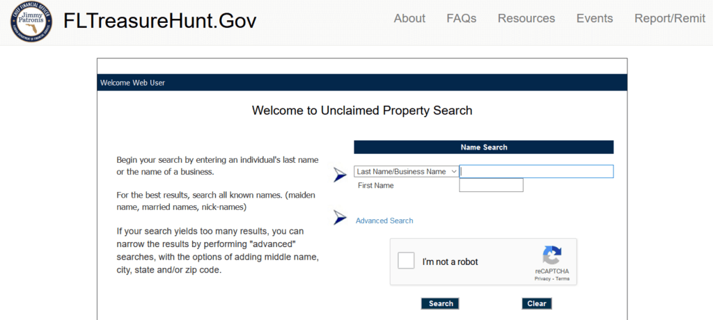 What is Unclaimed Property in Florida