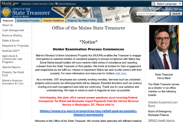 Your Guide to Finding Unclaimed Money in Maine