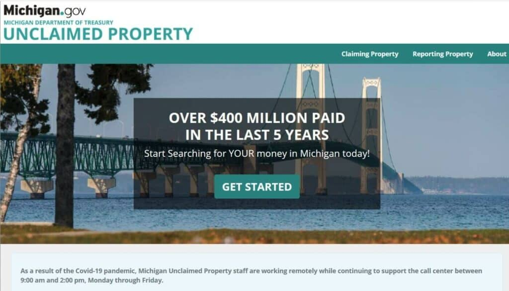 Your Guide to Unclaimed Property in Michigan