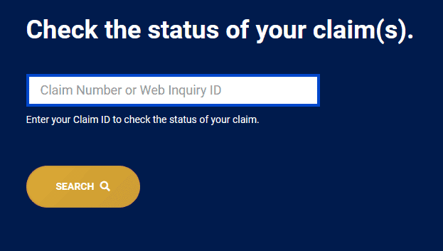 How Can You Check the Status of Your Claim