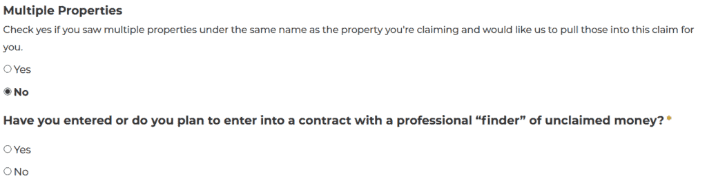 How to Claim Your Mississippi Property Step 1
