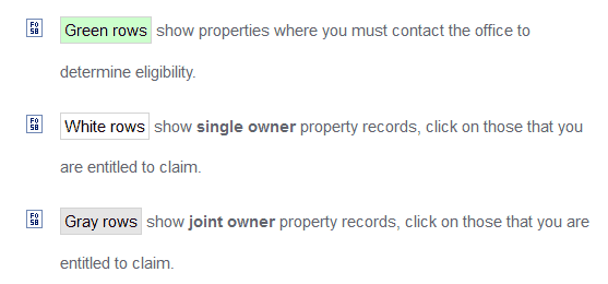 How to Find Unclaimed Property in Pennsylvania Step 3