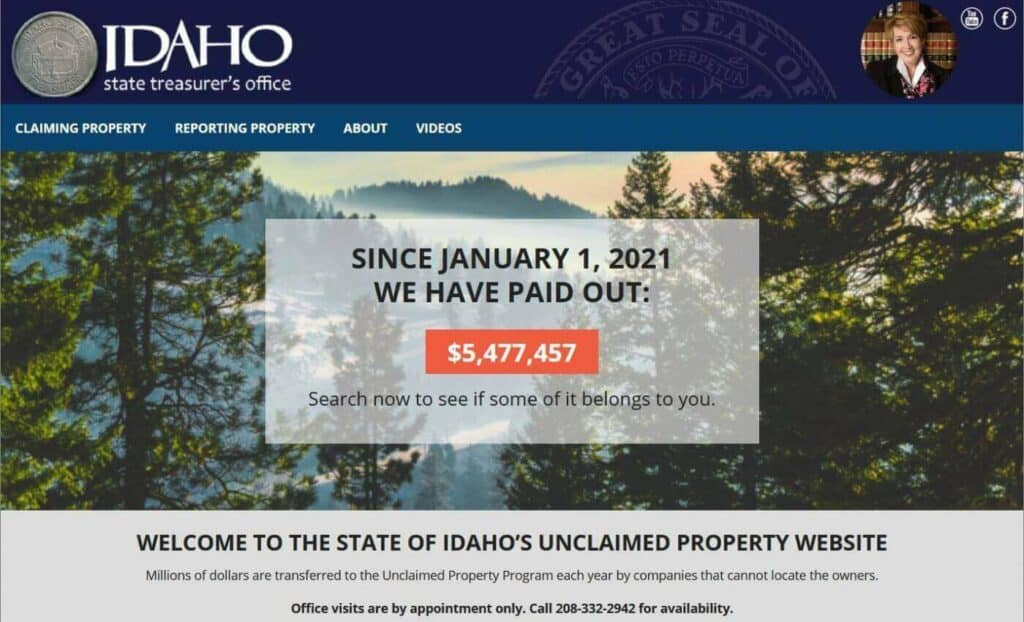 Your Guide to Idaho Unclaimed Property