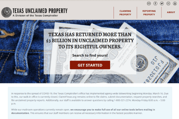 Your Guide to Unclaimed Property in Texas