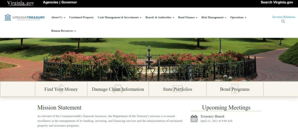 Your Guide to Unclaimed Property in Virginia