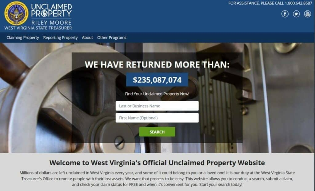 Your Guide to Unclaimed Property in West Virginia