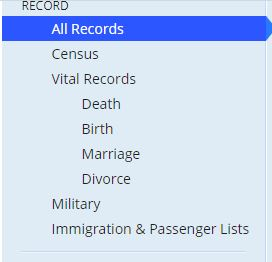 How to Find California Death Records Step 3
