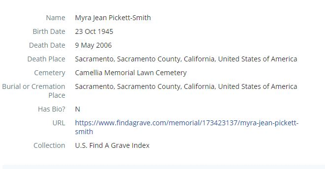 How to Find California Death Records Step 7