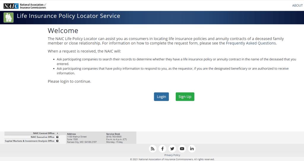 NAIC Database