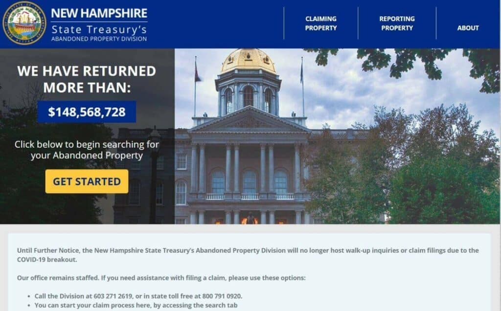 Your Guide to Unclaimed Property in New Hampshire