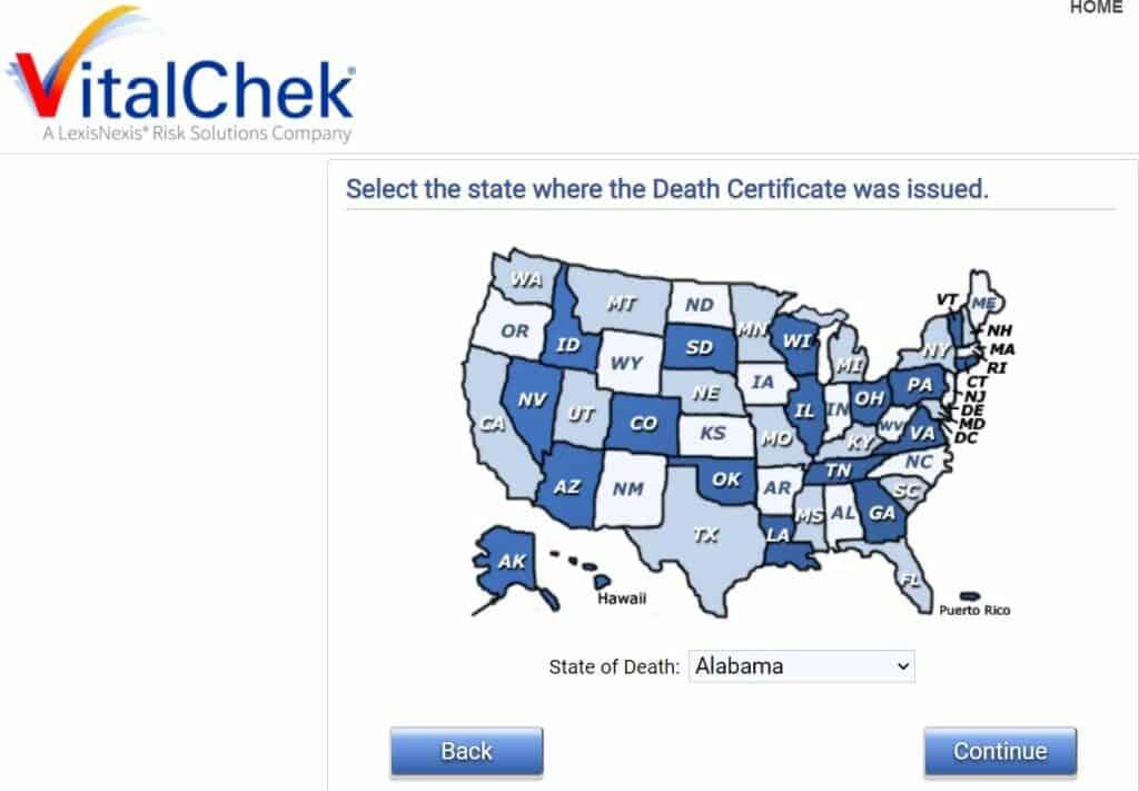 Alabama Death Databases