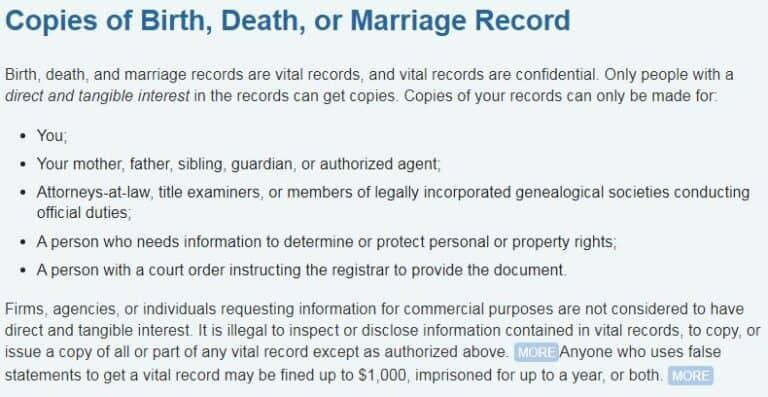 Death Certificates in Rhode Island