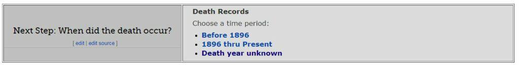 Hawaii Death Databases