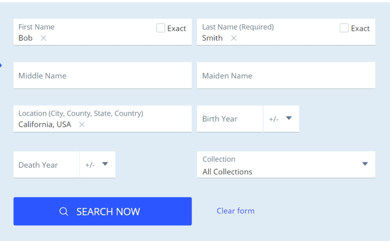 How to Find Death Records Step 4