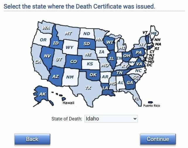 Idaho Death Databases