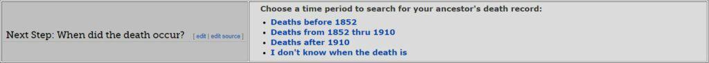 Kentucky Death Databases