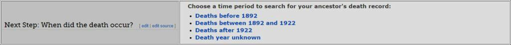 Maine Death Databases