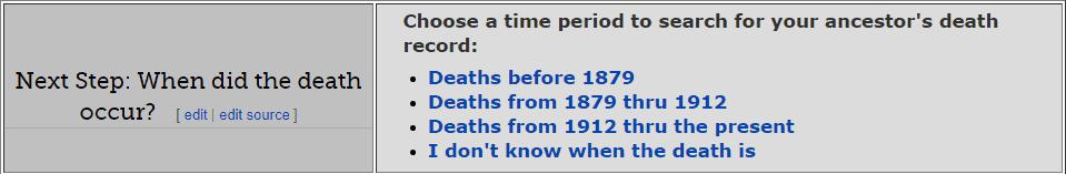 Mississippi Death Databases