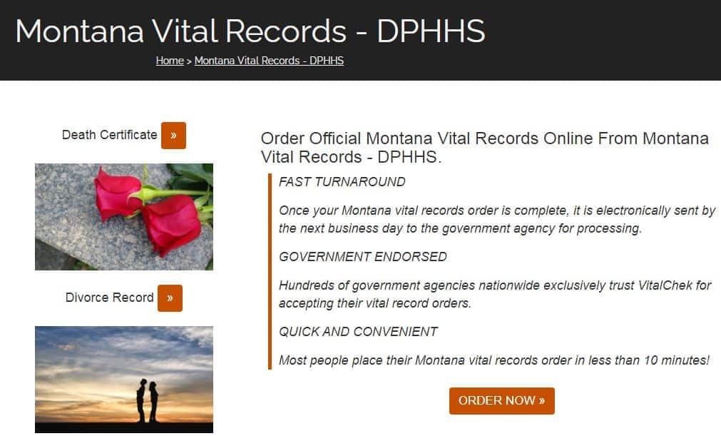Montana Death Records