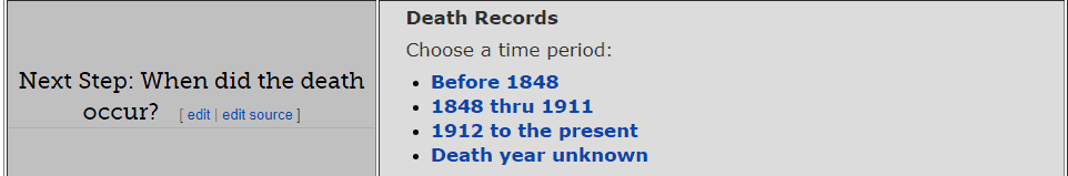 New Jersey Death Databases