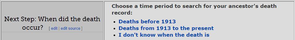 North Carolina Death Databases