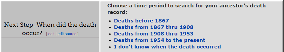 Ohio Death Databases