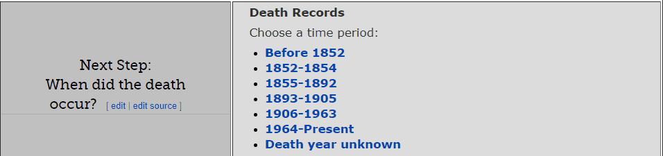 Pennsylvania Death Databases